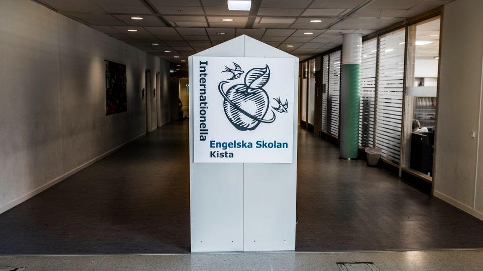 Internationella Engelska Skolan i Kista. Arkivbild.