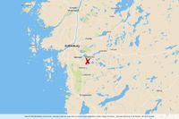 Drunkningen inträffade söder om Mölnlycke.