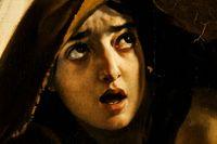 """Detalj från """"Pompejis sista dag"""" (1833) av den ryske målaren Karl Brjullov."""