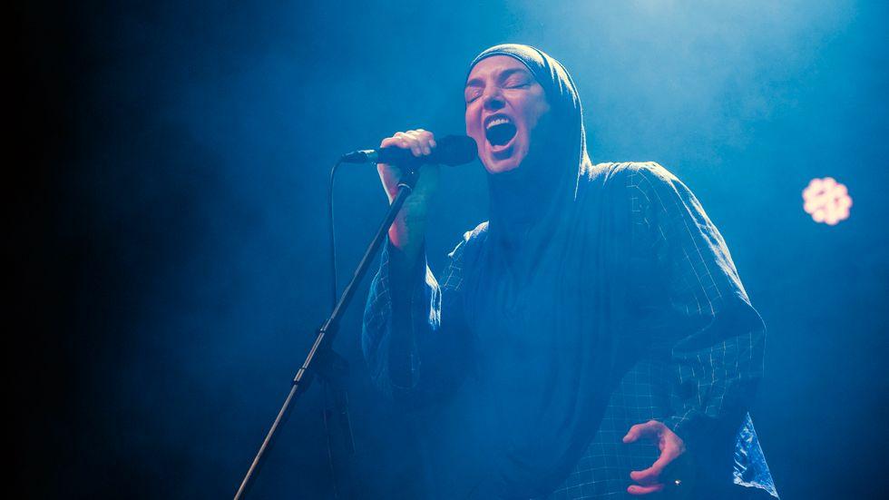 Sinéad O'Connor lägger musiken åt sidan för gott. Arkivbild.