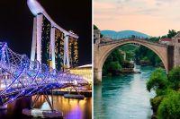 6 broar utöver det vanliga