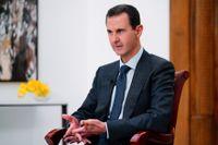 Syriens president Bashar Assad pekas ut som skyldig till användandet av kemiska vapen 2017. Arkivbild.