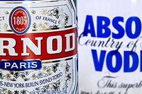 Dyr Vin & Sprit-nota för Pernod Richard