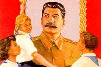 Östtysk Stalinaffisch, 1952.