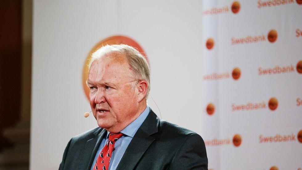 Göran Persson är styrelseordförande för Swedbank.