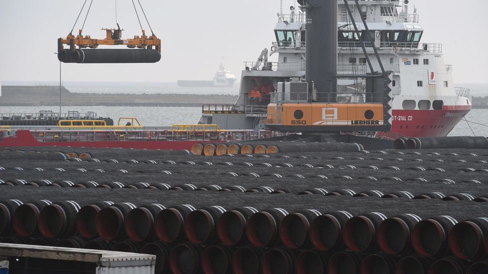 USA:s president Donald Trump kommer att genomföra sanktioner mot gasledningen Nord Stream 2.