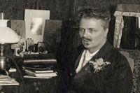 August Strindberg 1899.