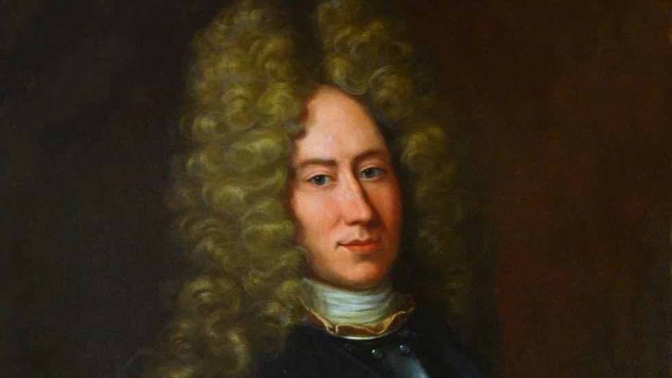 Ett porträtt av Henrik Magnus Buddenbrock målat av  Johan Starbus.