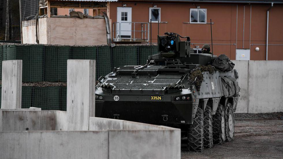 Sverige och Frankrike har tecknat en avsiktsförklaring för att gemensamt stärka pansarvärnsförmågan. Arkivbild.