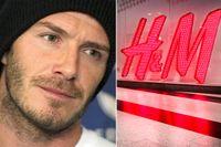 David Beckham petas nu från rollen som H&M:s manliga klädförebild.
