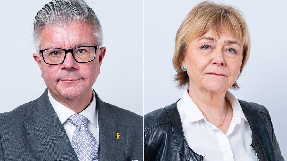 Hans Wallmark och Beatrice Ask.