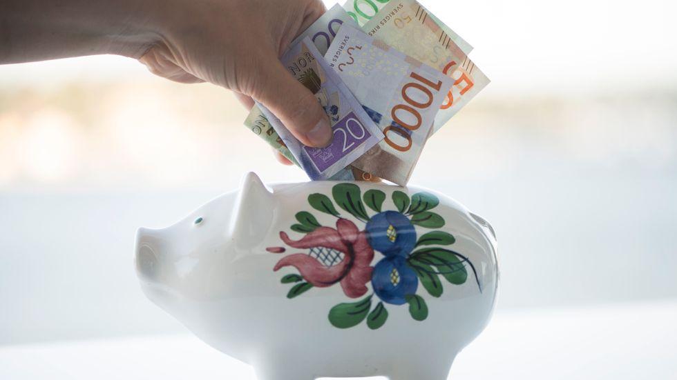 Svenska fondsparare drog öronen åt sig när börsen krängde till under februari. Arkivbild.