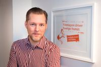 Företagarnas vd Günther Mårder. Arkivbild.
