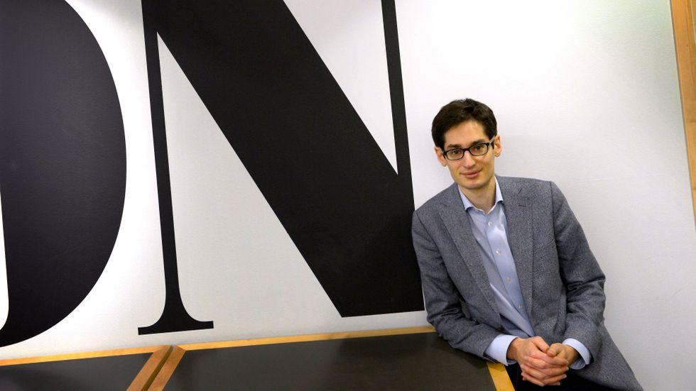 Dagens Nyheters chefredaktör Peter Wolodarski.