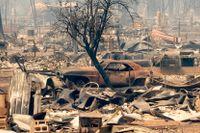 Småstad brann ned i Kalifornien – igen