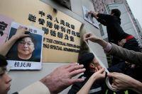 Den svenske medborgaren Gui Minhai greps i nyligen i Kina mitt framför ögonen på svenska diplomater. Den svenska regeringens relativt försiktiga reaktion antyder att handelsförbindelser är viktigare än mänskliga rättigheter, skriver Maja Thrane.