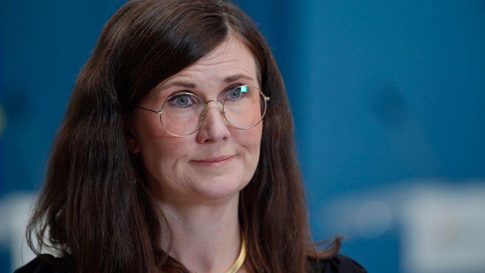 Jämställdhets- och bostadsminister Märta Stenevi (MP). Arkivbild.