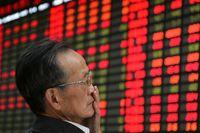 Börserna i Kina tappar i torsdagshandeln. Arkivbild.