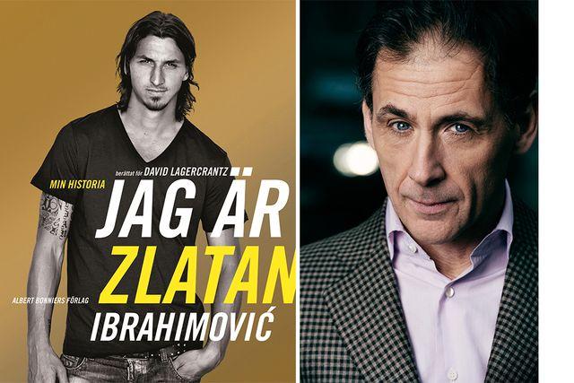 Ett fenomen i sammanhanget. David Lagercrantz Zlatan-bok sprängde många läsgränser.