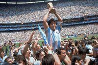 Titeln på den kommande Netflix-filmen är en tydlig blinkning till Maradonas legendariska mål under fotbolls-VM 1986. Arkivbild.