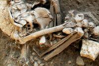 I en kollektivgrav från yngre stenåldern i Västergötland har forskare nyligen hittat de äldsta kända DNA-spåren av Yersinia pestis.