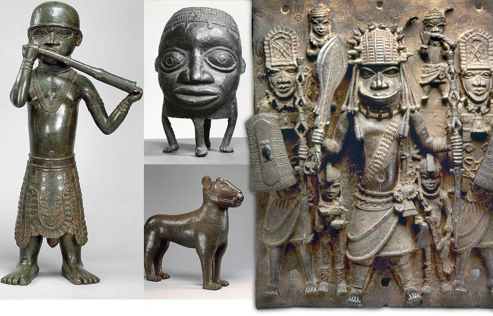 Kopia eller original? De omdiskuterade Benin-bronserna finns utspridda på 15 museer i Europa och USA.