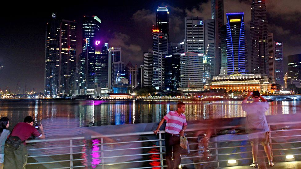 Singapore lär förlora på det nya skatteavtalet, tror två experter som TT har pratat med. Arkivbild.