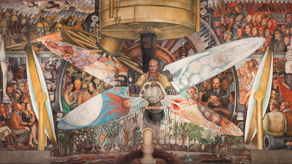 Diego Rivera, Man, Controller of the Universe, 1934.