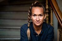 """""""Jag hoppas att män ska läsa boken, att de ska bli uppmuntrade och känna att kampen är möjlig, nödvändig och positiv"""", säger Bianca Kronlöf som nu bokdebuterar."""