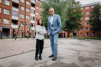 Juniorreportern Tiffany fick träffa Sveriges inrikesminister Mikael Damberg (S) i Visättra söder om Stockholm och ställa frågor om skjutningar.