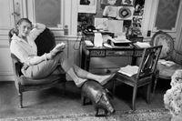 Ingrid Bergman fotograferad i Paris 1957.