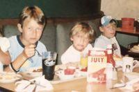 Kusinen: Som barn var Armand som McEnroe