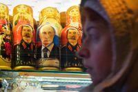 I dagens Ryssland rehabiliteras Stalins minne.