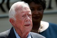 USA:s tidigare president Jimmy Carter. Arkivbild.