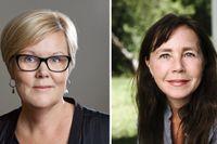 Marie Angsell, Bris, och Malin Bergström, barnpsykolog.