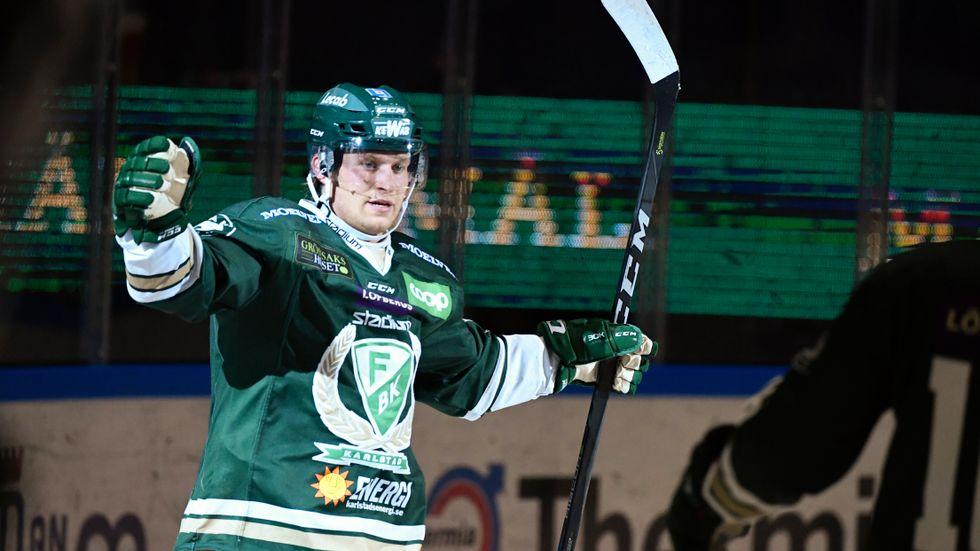 Marcus Nilsson återvänder till Färjestad. Arkivbild.