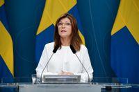 Arbetsmarknadsminister Eva Nordmark. Arkivbild