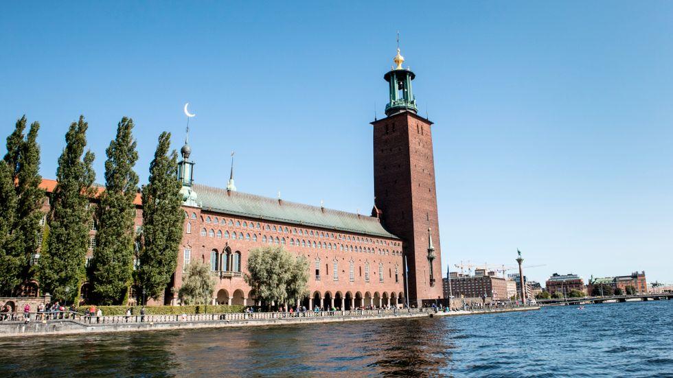 Stockholms stadshus. Arkivbild.