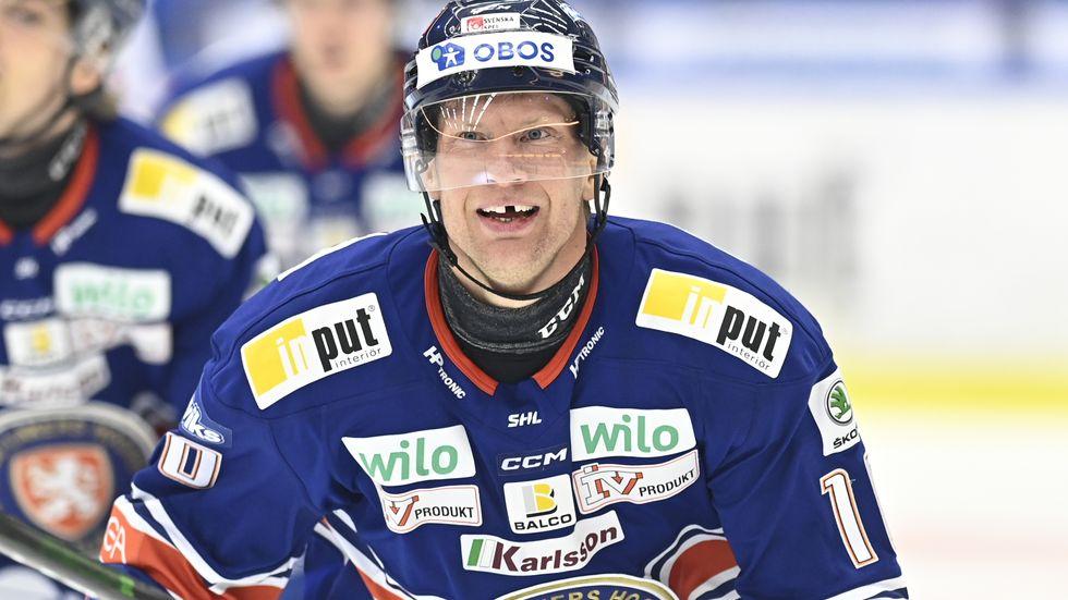 Richard Gynge fixade säsongens första seger för mästarlaget Växjö.