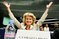 """Nyinvalda Anna Maria Corazza Bildt har hittat sin plats. """"Det här är mitt livs dröm!"""", säger hon."""