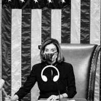 Representanthusets talman Nancy Pelosi.