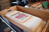 """Nu finns det skäl för Uppsalabaserade Machinegames att fira med tårta igen, efter att deras spel """"Wolfenstein: The new colossos"""" prisats vid The Game Awards i Los Angeles. Arkivbild."""