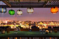 Utsikten från Tak, enligt arkitekterna. Den högt belägna restaurangen är en av Krogstockholms snackisar just nu. Uppdatera dig om det senaste här: