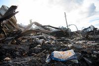 Hela Polarbrödsfabriken i Älvsbyn brann ned i augusti förra året.