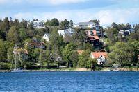 Danderyd kommun hade under 2019 den näst största befolkningsminskningen av kommunerna i landet. Arkivbild.