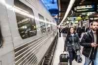 Klimatdiskussionerna har gett SJ rejäl skjuts – frågan är om passagerarna är tillräckligt nöjda med bolagets service för att stanna kvar.