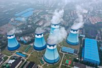 Kolkraftverk står för merparten av Kinas elproduktion. Arkivbild