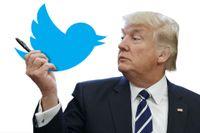 USA:s president Donald Trump. Montage: Thomas Molén