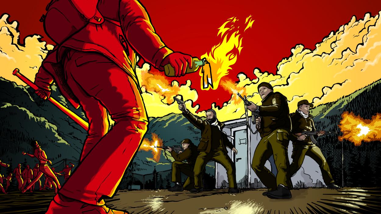 """Hur upprätthåller jag kontroll över min säkerhetsstyrka efter """"händelsen""""? Vad ska hindra vakterna från att välja sin egen ledare? Illustration: Thomas Molén"""