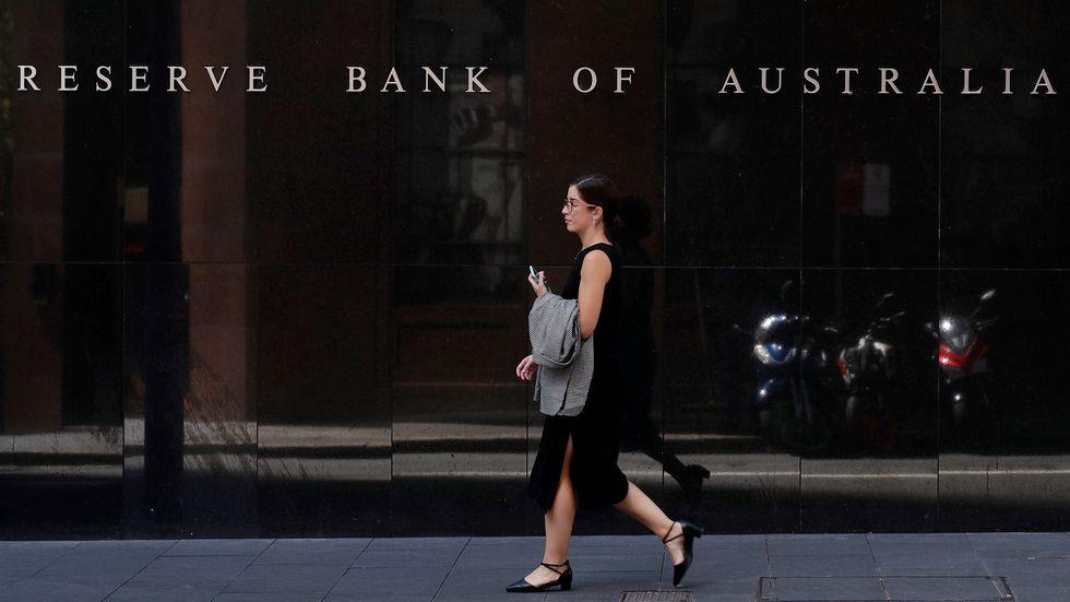 Australiens centralbank Reserve Bank of Australia drabbades av det stora internetavbrottet i Australien på torsdagen.